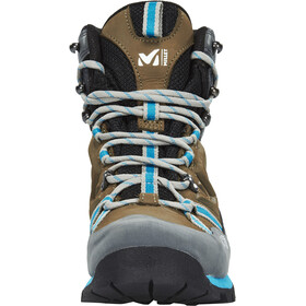 Millet High Route GTX Shoes Women faint brown/blue bell